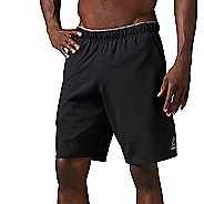 Mens Reebok Workout Ready Woven Graphic Unlined Shorts