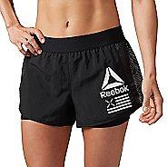 Womens Reebok 2-in-1 Shorts