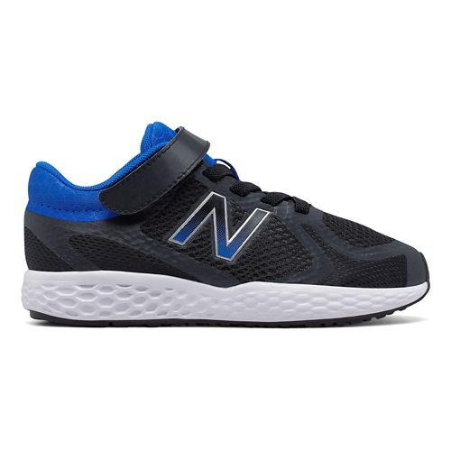 New Balance 720v4 Running Shoe - Black/Blue 5Y