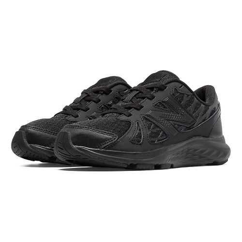 New Balance 690v4 Running Shoe - Black/Black 12C