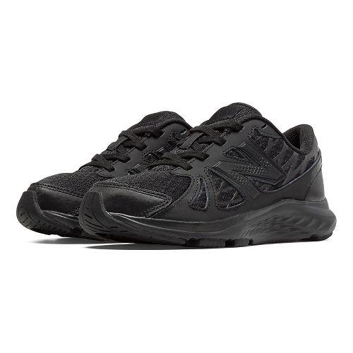 New Balance 690v4 Running Shoe - Black/Black 13C