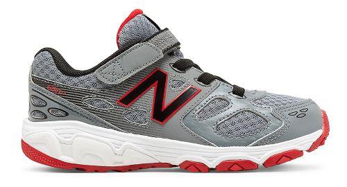 New Balance 680v3 Running Shoe - Grey/Black/Red 10.5C