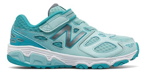 New Balance 680v3 Running Shoe - Blue/White 4Y
