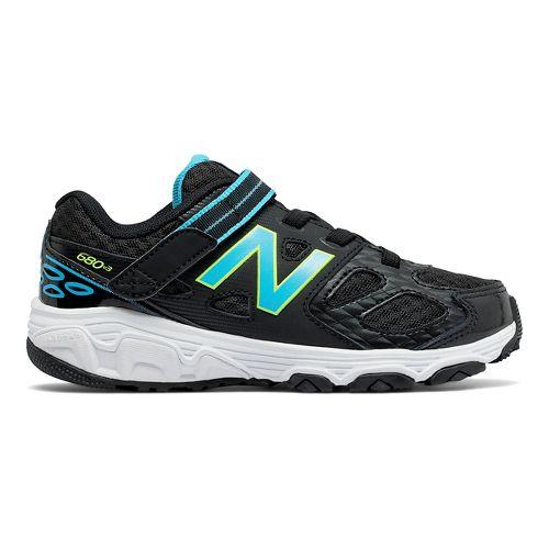 New Balance 680v3 Running Shoe - Black/Blue/Green 3Y