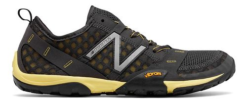 Mens New Balance 10v1 Trail Running Shoe - Grey/Yellow 12