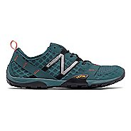 Mens New Balance 10v1 Trail Running Shoe - Grey/Orange 8