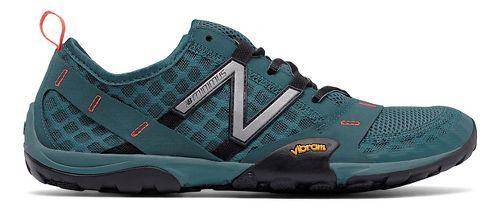 Mens New Balance 10v1 Trail Running Shoe - Grey/Orange 7.5