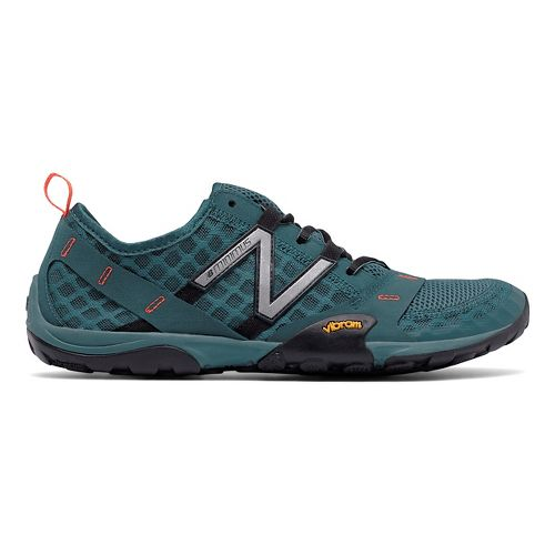 Mens New Balance 10v1 Trail Running Shoe - Grey/Orange 8.5
