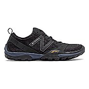 Womens New Balance 10v1 Trail Running Shoe - Black/Black 7.5