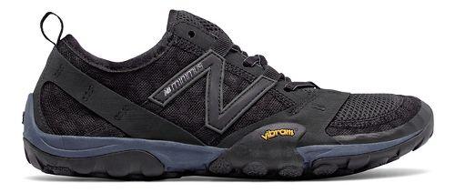 Womens New Balance 10v1 Trail Running Shoe - Black/Black 6.5