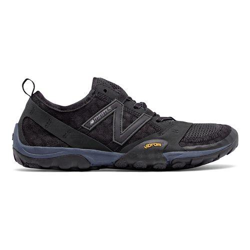 Womens New Balance 10v1 Trail Running Shoe - Black/Black 10