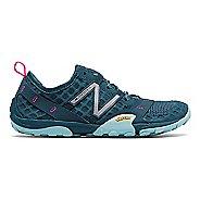 Womens New Balance 10v1 Trail Running Shoe - Grey/Blue 5.5