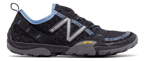 Womens New Balance 10v1 Trail Running Shoe - Black/Blue 10.5