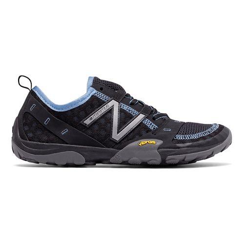Womens New Balance 10v1 Trail Running Shoe - Black/Blue 12