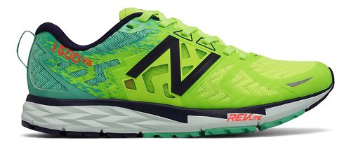 Womens New Balance 1500v3 Running Shoe - Green/Blue 6.5