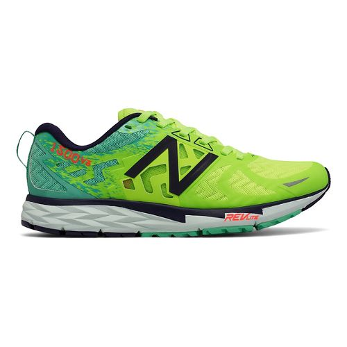 Womens New Balance 1500v3 Running Shoe - Green/Blue 8.5