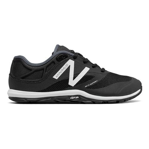 Womens New Balance 20v6 Cross Training Shoe - Black/White 12