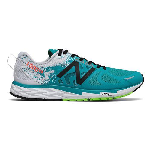 Mens New Balance 1500v3 Running Shoe - Green/Orange 15