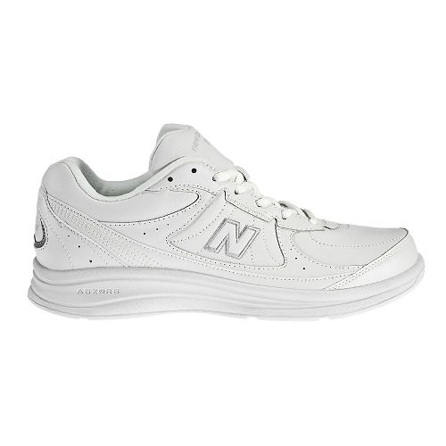 Mens New Balance 577v1 Walking Shoe - White 11.5