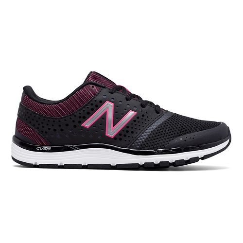 Womens New Balance 577v4 Cross Training Shoe - Black/Pink 8.5