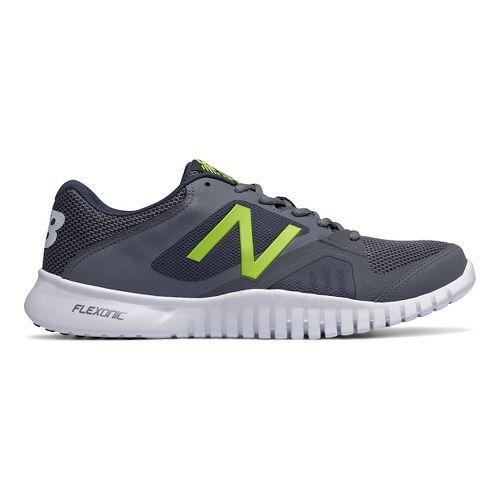 Mens New Balance 613v1 Cross Training Shoe - Grey/Yellow 12