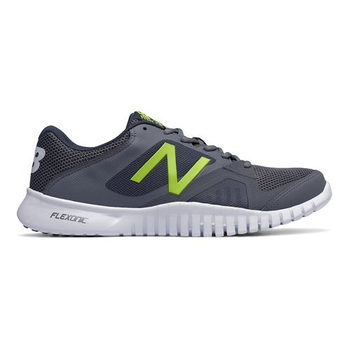 Mens New Balance 613v1 Cross Training Shoe - Grey/Yellow 9.5