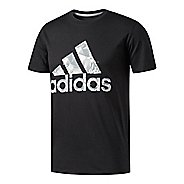 Mens Adidas Adi Shatter Tee Short Sleeve Technical Tops