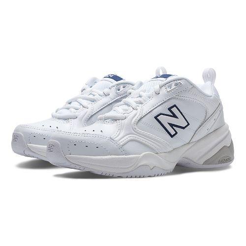 Womens New Balance 624v2 Cross Training Shoe - White 9
