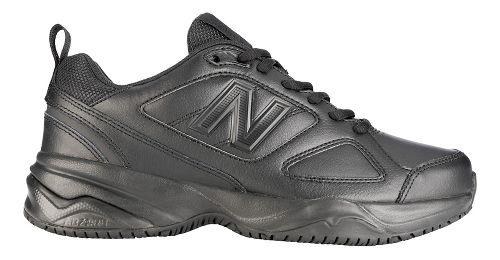 Womens New Balance 626v2 Walking Shoe - Black 6