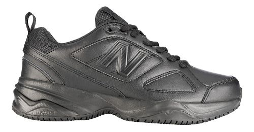 Womens New Balance 626v2 Walking Shoe - Black 7