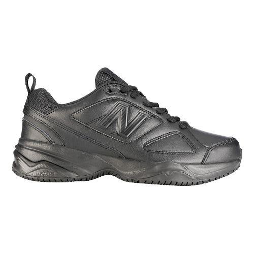 Womens New Balance 626v2 Walking Shoe - Black 6.5