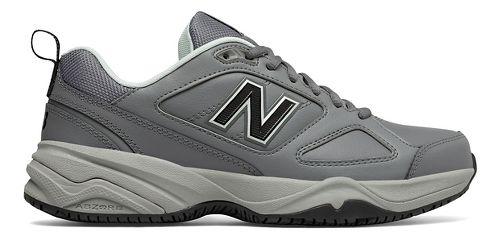 Womens New Balance 626v2 Walking Shoe - Grey/Blue 8.5