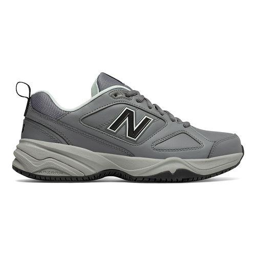 Womens New Balance 626v2 Walking Shoe - Grey/Blue 11