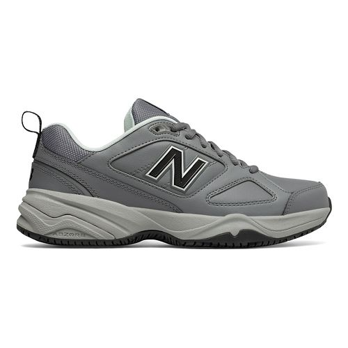 Womens New Balance 626v2 Walking Shoe - Grey/Blue 5.5