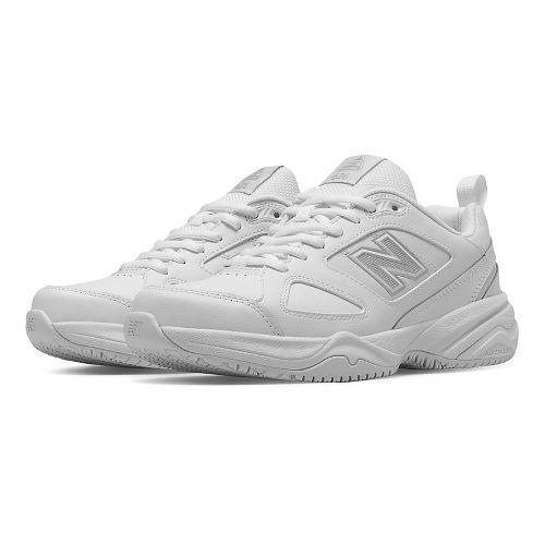 Womens New Balance 626v2 Walking Shoe - White 12