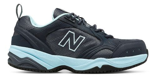 Womens New Balance 627v1 Walking Shoe - Dark Grey/Blue 7