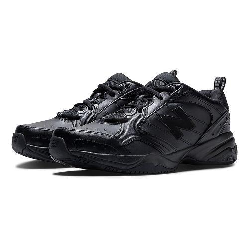 Mens New Balance 624v2 Cross Training Shoe - Black 8