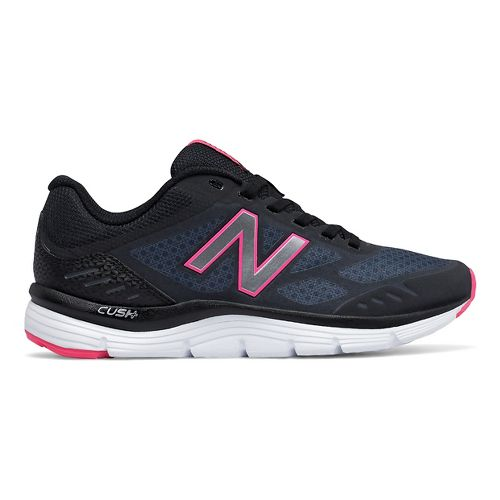 Womens New Balance 775v3 Running Shoe - Dark Grey/Pink 7.5