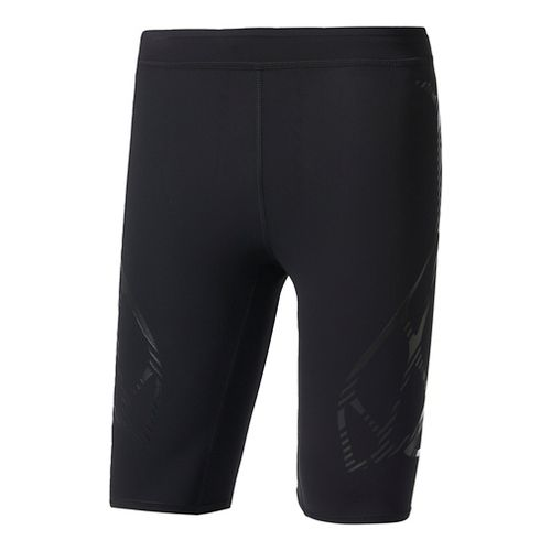 Mens Adidas Adizero Sprintweb Compression & Fitted Shorts - Black L