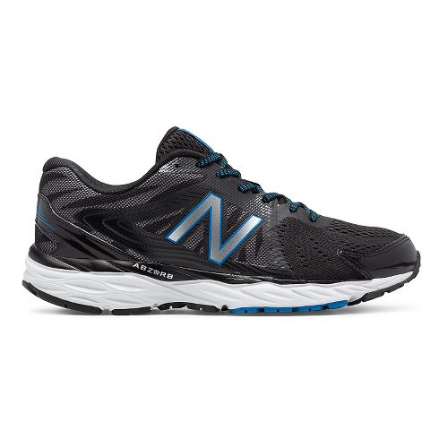 Mens New Balance 680v4 Running Shoe - Black 11