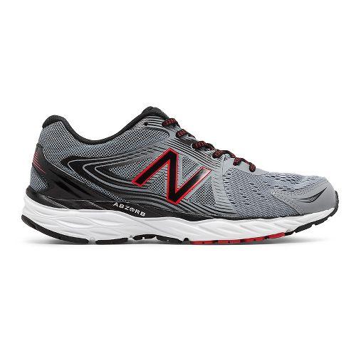 Mens New Balance 680v4 Running Shoe - Steel/Black 13