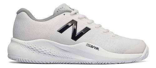 Womens New Balance 996v3 Court Shoe - White 9