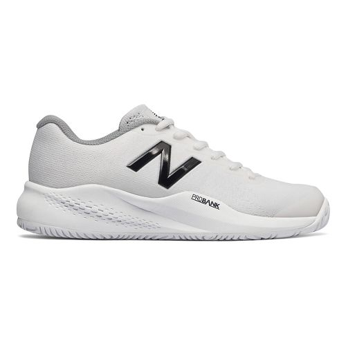 Womens New Balance 996v3 Court Shoe - White 9