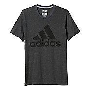 Mens Adidas Badge Of Sport Classic Tee Short Sleeve Technical Tops