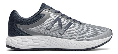 Womens New Balance Fresh Foam Boracay v3 Running Shoe - Silver/White 8.5