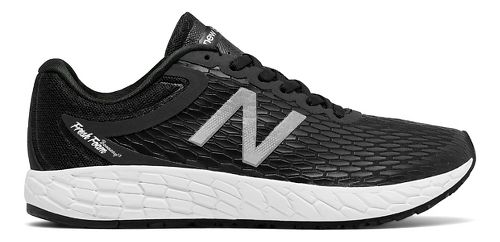 Womens New Balance Fresh Foam Boracay v3 Running Shoe - Black/White 10