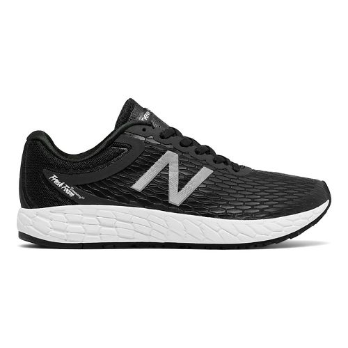 Womens New Balance Fresh Foam Boracay v3 Running Shoe - Black/White 7