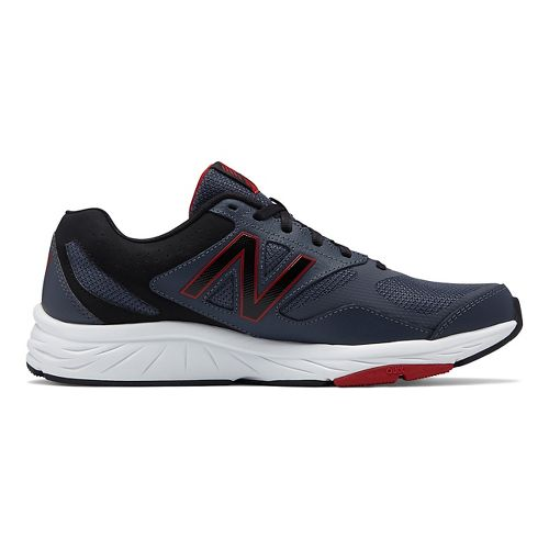 Mens New Balance 824v1 Cross Training Shoe - Grey/Red 14