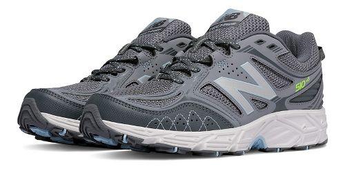 Womens New Balance T510v3 Trail Running Shoe - Grey 10