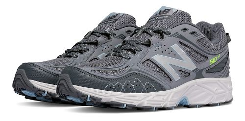 Womens New Balance T510v3 Trail Running Shoe - Grey 9
